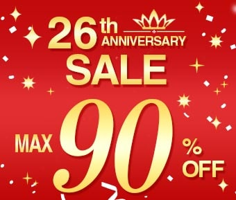 26th Anniversary Sale